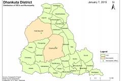 Dhankuta District Map